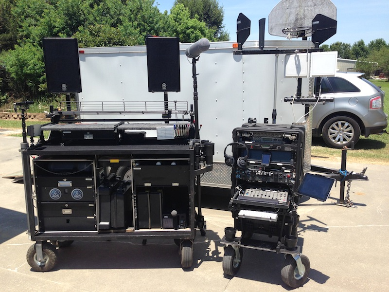 Here are our Custom Sound Carts.